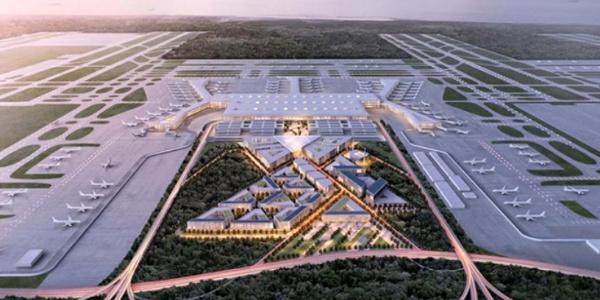 """Yeni Havalimanını  dünyaya tanıtacak """"dev yarış"""" için son hazırlık"""