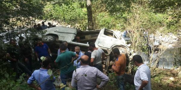 Giresun'daki kazada ölen 5 kişinin kimlikleri belli oldu