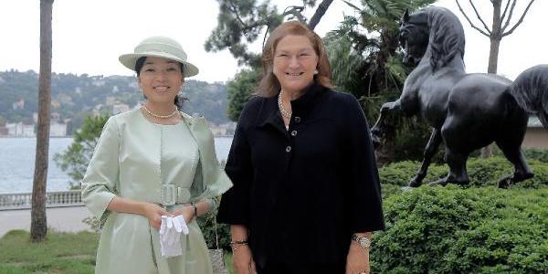 Güler Sabancı, Japonya Prensesi ile iş dünyasını bir araya getirdi