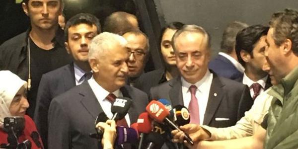 TBMM Başkanı Yıldırım: Kasımpaşalıyım ama Galatasaray taraftarıyım
