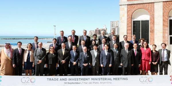"""Ticaret Bakanı Ruhsar Pekcan Arjantin'deki """"G20 Bakanları toplantısında"""