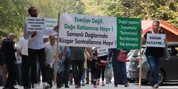 Gölcük'te yapılacak rüzgar santraline köylülerden tepki