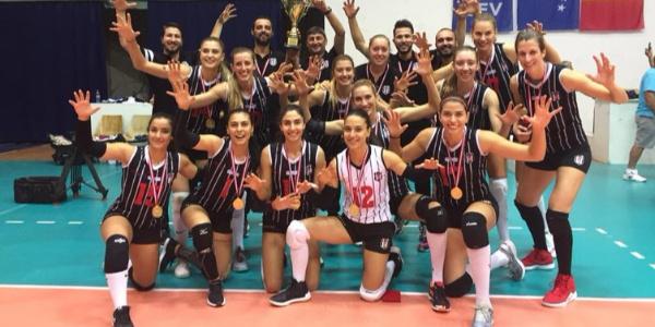 Beşiktaş Kadın Voleybol Takımı, Kosova'da Balkan şampiyonu oldu