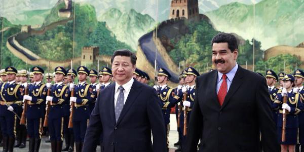 Venezuela lideri Maduro'dan Çin'de üst düzey görüşmeler