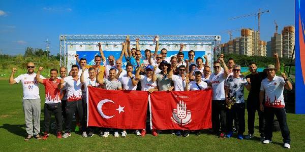 İstanbul İtfaiyesi Güney Kore'den  24 altın madalya ile döndü