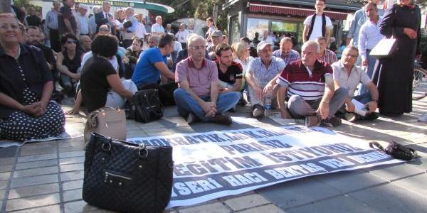 Kayseri'de Alevi dernekleri  laik, bilimsel eğitim için eylem yaptı