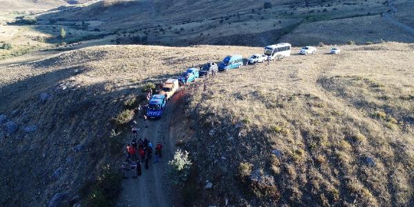 Erzurum'da kayıp  iki çocuk annesi için AFAD ve AKUT  da devrede