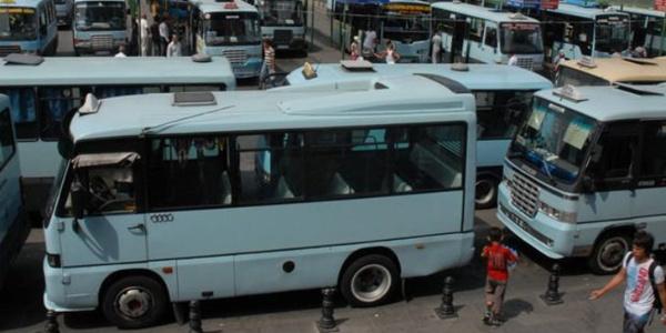 Kadıkiy-Pendik hattında minibüs kahyalarına operasyon: 10 kişi tutuklandı