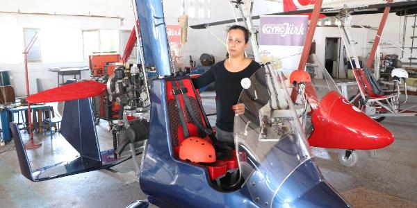 İzledikleri belgeselden esinlenip Türkiye'nin ilk yerli gyrocopter'ini ürettiler