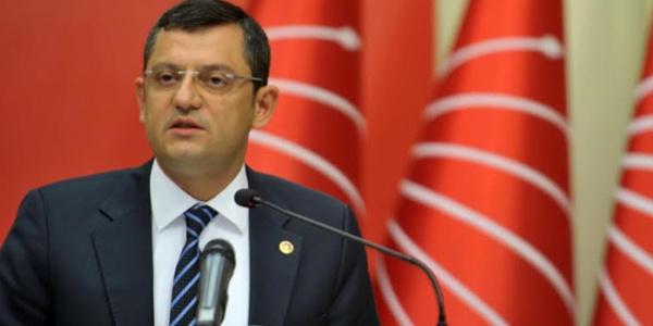 CHP Grup Başkanvekili Özgür Özel'den iç tüzük çıkışı