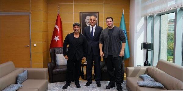 Bakan Mehmet Ersoy, ünlü isimlerle sinema ve televizyonu masaya yatırdı