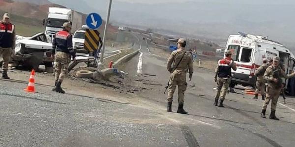 Aksaray'da çalışma yapılan yolda zincirleme kaza: 2 ölü
