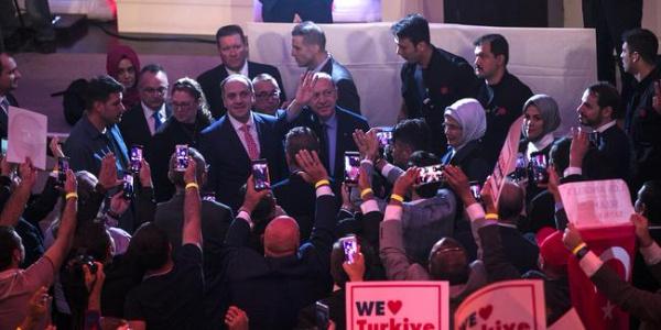 Cumhurbaşkanı Erdoğan, New York'ta Türk-İslam alemi temsilcilerine seslendi