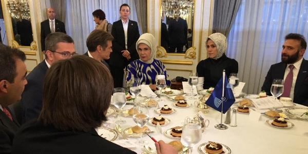 Emine Erdoğan'dan New York'ta insani yardımla ilgili flaş açıklamalar