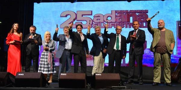 25. Uluslararası Adana Film Festivali ödül gecesi ile başladı