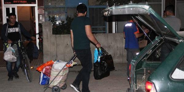 Konya'da 150 kişinin kaldığı 2 apartman tahliye edildi