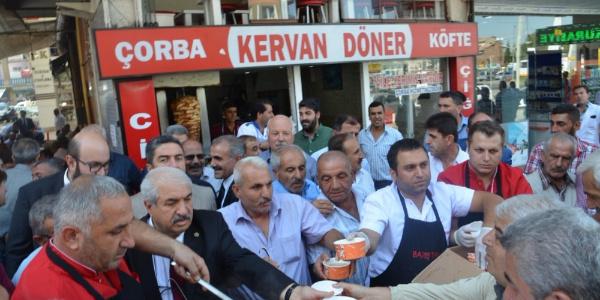 CHP Malatya teşkilatından 5 bin kişiye aşure ikramı