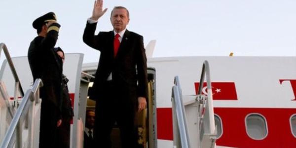 Cumhurbaşkanı Erdoğan Almanya'ya gitmek üzere ABD'den ayrıldı