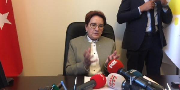"""Meral Akşener: MHP'nin af teklifi için """"Rahşan affının kopyala-yapıştır""""ı dedi"""