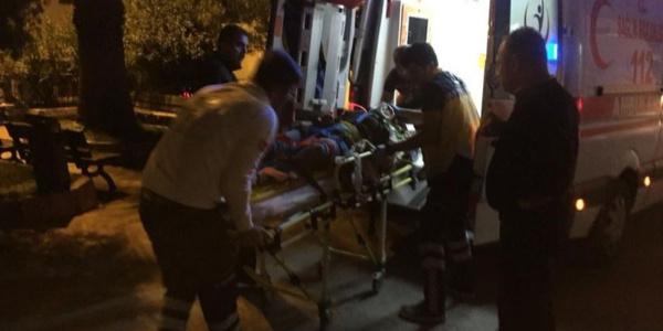 Zonguldak'ta 2 aracın çarpıştığı kazada 1'i ağır 7 yaralı
