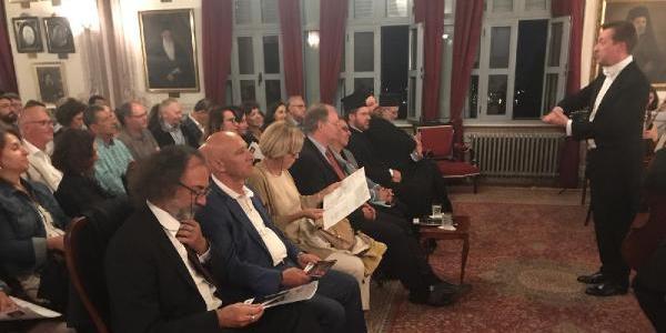 Adalar Çocuk Orkestrasından, AB Türkiye Delegasyonu Başkanı Berger'e konser