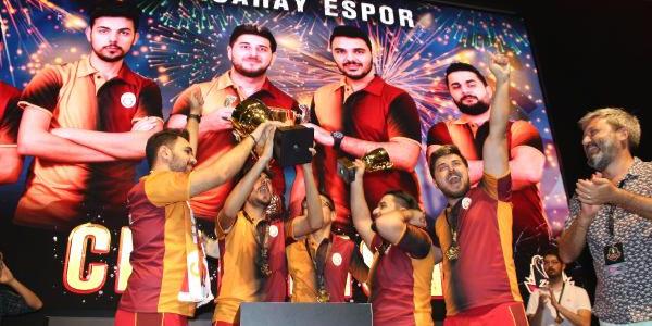 Antalya'da düzenlenen Zula International Cup'ta kupa Galatasaray Espor'un oldu