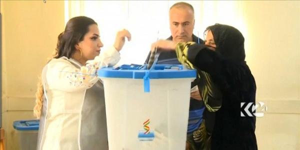 Kuzey Irak'taki seçimlerde kazanan Barzani'nin partisi oldu
