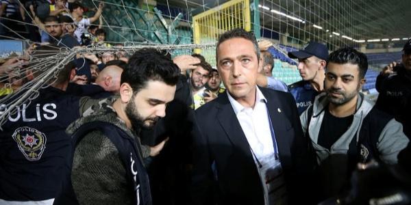 Ali Koç Fenerbahçe taraftarından özür diledi