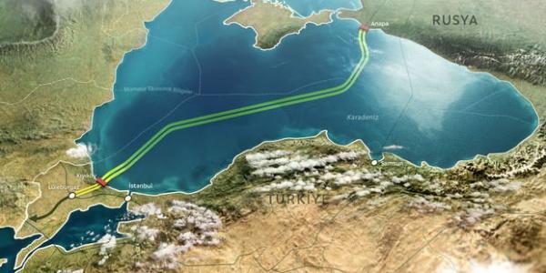 Gazprom, Türk Akım'ın deniz kısmı için takvim açıkladı