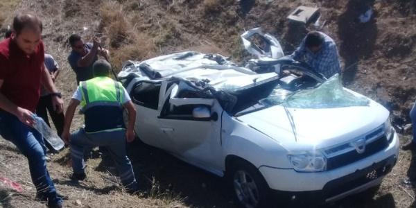Antalya- Burdur karayolunda kaza: Aynı aileden 4 ölü