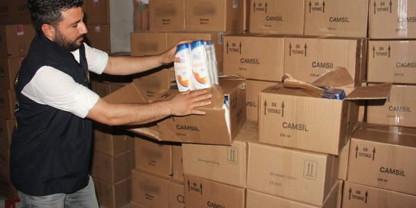 Adana polisinden sahte şampuan deposuna baskın: 14 bin 952 adet