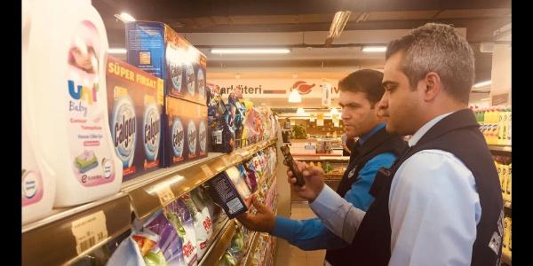 Kayseri Büyükşehir'den toptancı  ve marketlere denetim
