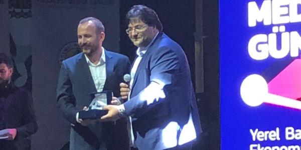"""Cep TV'nin """"Kültür Köprüsü""""ne en iyi yerel program ödülü"""