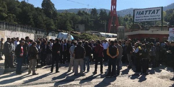 Bartın'da kulede eylem yapan işçilerle anlaşma sağlandı