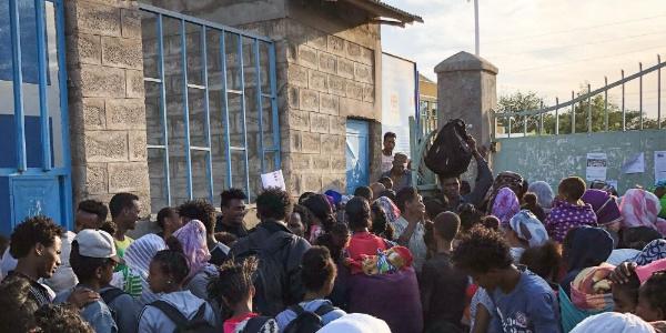 Etiyopya ile Eritre arasındaki sınır açıldı, binlerce aile buluştu