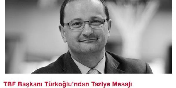 Hidayet Türkoğlu'ndan FIBA Genel Sekreteri Baumann için taziye mesajı