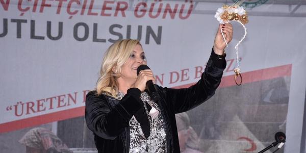Tekirdağ'daki Kadın Çiftçiler Günü'nde Derya Baykal rüzgarı esti