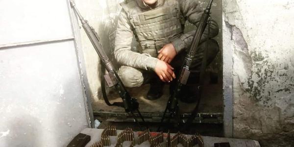 Kaza kurşunuyla şehit olan asker son yolculuğuna uğurlandı