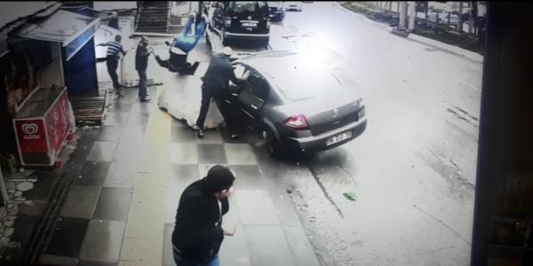 Aynı yerde çifte kaza