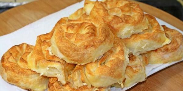 Leziz mi leziz gül böreği tarifi