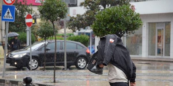 Ordu şiddetli yağmur