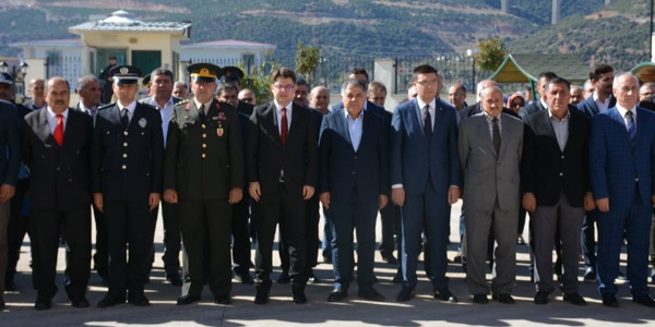 Nurdağı'nda 29 Ekim Cumhuriyet Bayramı töreni