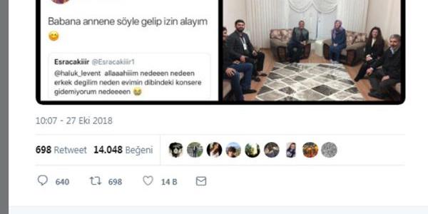 Haluk Levent bir hayranının evine gidip izin aldı