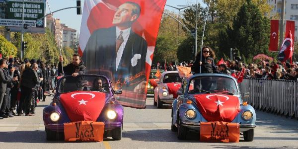 Eskişehir'de 'Cumhuriyet'in 95. yılı' coşkuyla kutlandı