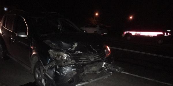 Osmaniye'de iki otomobil çarpıştı: 9 yaralı