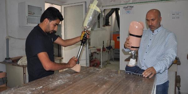 6 bin 500 Suriyeliye protez