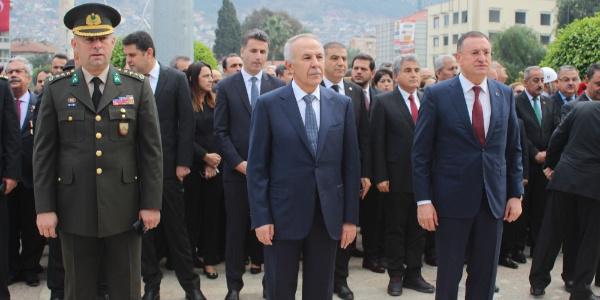 Hatay'da 10 Kasım Atatürk'ü Anma Günü etkinlikleri düzenlendi
