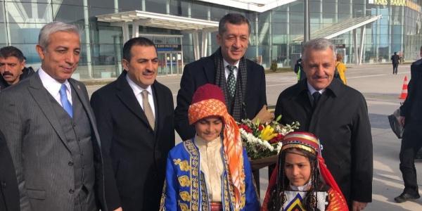 Milli Eğitim Bakanı Ziya Selçuk Kars'a geldi