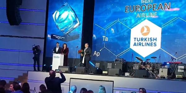 """THY'ye  """"Avrupa'nın en iyisi"""" ödülü"""