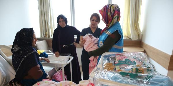 """2014 yılından bugüne kadar Haliliye'de 22 bin bebeğe """"Hoş geldin"""" denildi"""